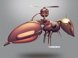 拟物临摹——机械蚂蚁