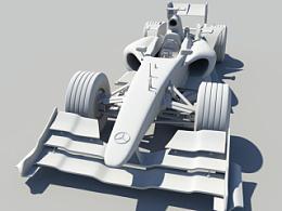 3D建模 F1赛车