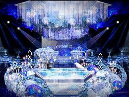 一款婚礼舞台仪式区设计