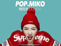 POP.MiKO LAB-bape&SUP