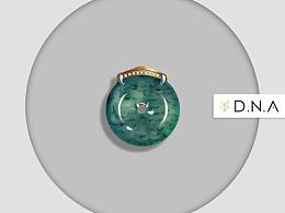 珠宝设计--灵蛇献宝