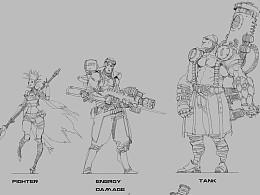 【原創】在Trion Worlds時期的設計草圖