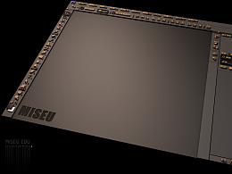 米色C4D作品之PS界面之美
