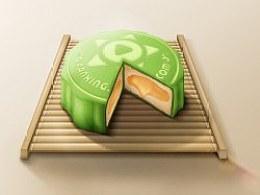 中秋快乐--冰皮月饼