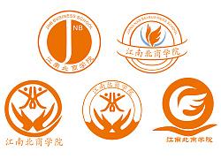 江南北商学院LOGO设计