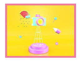 网易游戏《劲舞团》宣传二维码、图片设计