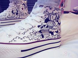 手绘鞋---送给你