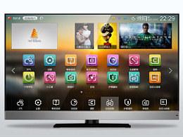 长虹智能电视图标设计