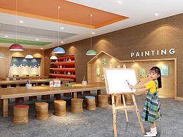 四川兰湾国际幼儿园品牌装修设计案例