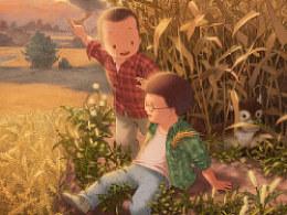 《童年时光》系列——在远方