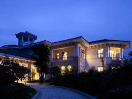 大气唯美生活想象 惠州高尔夫别墅样板房设计
