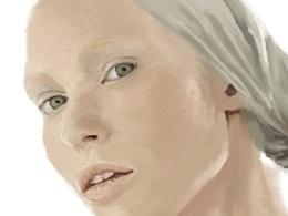 全美超模的一张CG~也是一张美其名却的贺图~