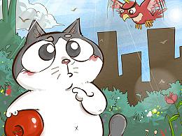 短篇漫画《阿果与小鸟》