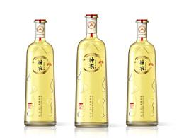 神农皇黄酒包装设计