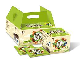 公司自主研发产品——每日坚果礼盒包装设计