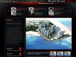 国际建筑事务所网站设计