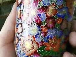 金丝珐琅彩(杯子万花)