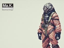 MA.K 1:20 喜欢捆绑SM的男性宇航员