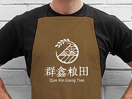|| 群鑫粮田 || logo视觉设计  【陈昆Quinn】