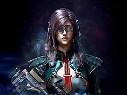 科幻女战士