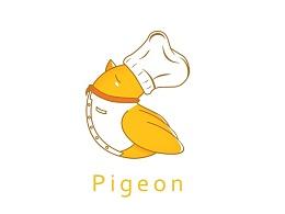 鸽子LOGO设计