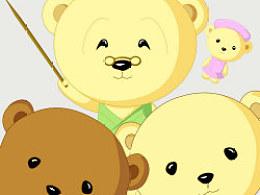 奶油熊和咖啡熊的故事
