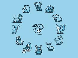 蓝(叁)—LOGO整理合集