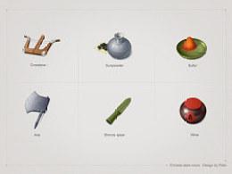 随手画的中国元素图标