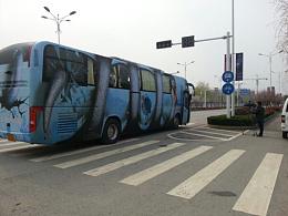北京3D画车体广告创意设计-镇江《白蛇传》