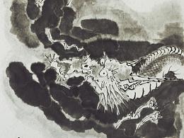 【南记手绘·龙·斜风细雨不须归·你瞅啥】