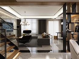 彩蘑菇空间正荣国领别墅设计