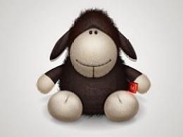 我桌子上的小山羊!爱它!!!!!!