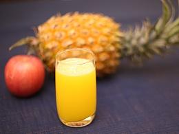 食养频道创意水果  第十七季 苹果菠萝汁