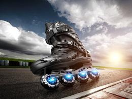 溜冰鞋广告片拍摄与创意