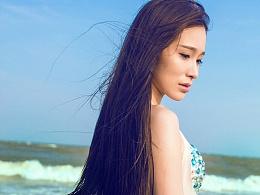 写真《美人鱼系列之- 海边的阿狄丽娜》