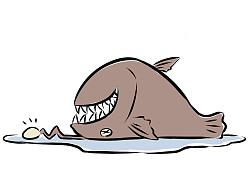 【非人哉115】子非鱼,安知鱼之怕也。