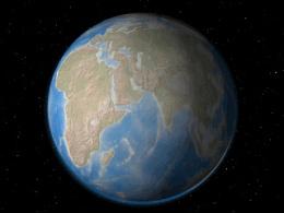 转动的小地球
