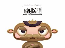 雷猴科技 卡通形象
