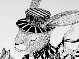 《三只兔子》之秋千、童年的木马、逝去