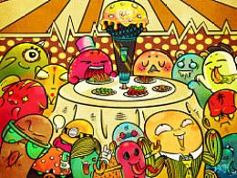 2011.6.18.(05.2)聚餐插画