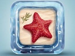 Starfish App Icon 临摹练习