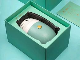 好看又解压的泊喜X故宫宫廷【猫都督】茶水杯
