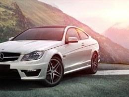 Benz C63 AMG_CGI