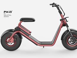品向工业设计 专注产品动态视频展示 电动哈雷车设计 电动滑板车设计 平衡车设计