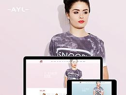 AYL Web Design-艾一乐服饰