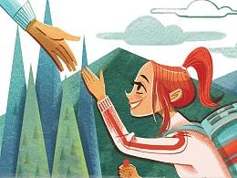 书籍插画-1