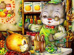小猫乐乐之过生日