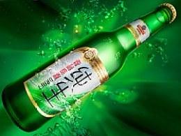 产品修图(第9弹)-青岛啤酒