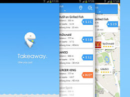 Take Away  App Design
