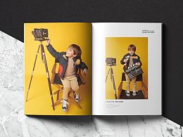 小玩皮童装画册产品手册部分